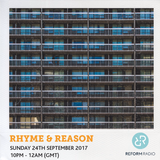 Rhyme & Reason 24th September 2017