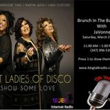 First Ladies of Disco on Brunch In The Basement With JaVonne