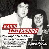 Radio Luxembourg - Tony Prince - Elvis Presley Memorial Show