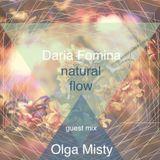 Olga Misty - Guest mix at Natural Flow #02 by Daria Fomina [May'17]