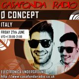 Ø CONCEPT // ITALY // CHANNEL RECORDINGS & IELEKTRONIX SHOWCASE 27/06/2014 20:00