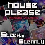 STEEV vs STENNLY  - (Tech House LIVE SET)  MANABE PARTY ATLANTA Mlada Vozice [4.9.2015]
