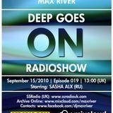 Deep Goes On 019 with Sasha Alx