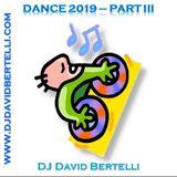Dance 2019, volume 3, with the top EDM musics in WW charts/com as top EDM nas listas mundiais.