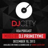 DJ Primetyme - DJcity Podcast - 12/10/13