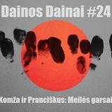 Dainos Dainai #24 Komža ir Pranciškus: Meilės garsai