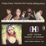 The #BBHypeShow With Special Guest Paigey Cakey 17/03/2015