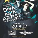 FLASH FINGER X MC YOU KEEP DJ Live Recording @ Hollywood Phuket, Phuket, Thailand 20th April 2017