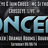 Ben Eye B2B Iain Cross (aka Crosseye) wae Mc Si The Sigh Live @ Concept @ The Bunker, Orange Rooms
