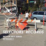 MTRMX011 - SELECTORS' RECORDS - MOTOR MIX SERIES