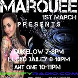 Ant One take over on Marquee 2hr Hours of the best music 2 diffrent styles