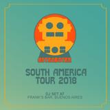 Astroboter - South America Tour 2018 - Frank's Bar DJ Set