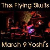 The Flying Skulls at Yoshi's - live finger drumming set, crunked out West Coast Bass