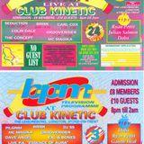 Dave Angel @ Club Kinetic (BPM Night) 3.9.93