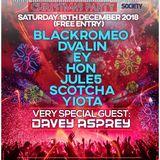 Blackromeo - UKTS Xmas Party December 2018 Live @ Club 414, Brixton, London