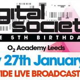 Bryan Kearney - Live @ Digital Society 5th Birthday (O2 Academy in Leeds, UK) - 27.01.2012