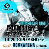 Dennis Kiesslich @ Stammheim Night - Rockarena Limburg - 20.09.2013