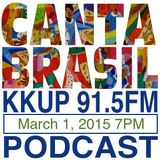 Canta Brasil on KKUP 91.5FM in Silicon Valley the second hour of the show 7PM