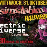 Phoenix - DJ Set - Simsalabim Magic Halloween @ Odonien - Cologne - 31-10-2018