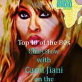 TOP TEN  (RETRO) CHART SHOW WITH CAROL JIANI ON iGROOVE RADIO