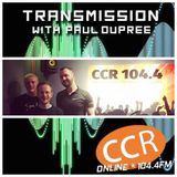 Transmission w/ Paul Dupree - guests The Lightscopes - 17/7/19 - Chelmsford Community Radio