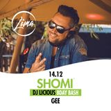 DJ Gee at Shomi Lima (warming up set 14-12-2019)