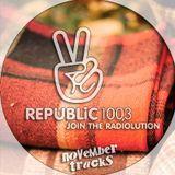 Republic 100.3 Radio > November Tracks