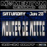 Momentvm Sessions 035 - Wouter de Witte - 2014.06.28