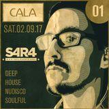 Cala_Sabado 02.09.17 / 7PM / Deep House, House, Soulful, Nu Disco