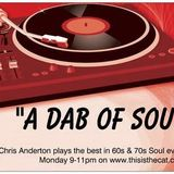 adabofsoul radio show mon 11th april with chris back in the chair and the choices of Steve Ronan