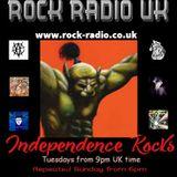 Independence Rocks w RRUK 9th July 2019