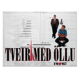 Tveir með öllu 12. ágúst 1991 á FM957