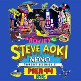 Steve Aoki - Live at Pier 94 NYC (SiriusXM) - 27.12.2012
