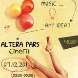 Αltera Pars  7/12/2012     Le cinéma sur Cinéfil