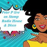 Live radio House and Disco Peter P on Stomp