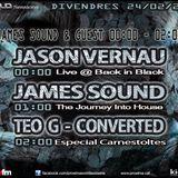 (J.Sound) James Söund and Guest Jason Vernau (1st hr) radio podcast #33 on Proxima FM Spain 2/23-24