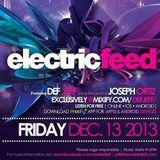 DEF JEFF - ELECTRIC FEED 002 (Guestmix  Joseph Ortiz)