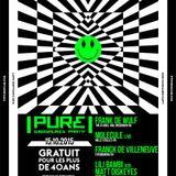 "Frank De Wulf at ""PURE Dinosaures #8"" @ Rex Club (Paris-France) - 15 October 2015"