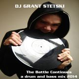 Drum and Bass mix with scratching,heavy beats and wobbly basslines mixed by DJ Grant Stetski