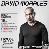 David Morales Live at House of Frankie HQ Milan - November 16th 2018