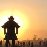 Burning Man Sunrise Celtic Chaos 2018