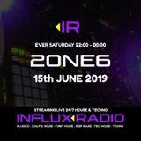 2one6 - LIVE on INFLUX◂RADIO (2019-06-15)