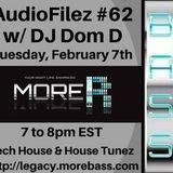 MoreBass 2-7-16 AudioFilez #62