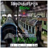 RepIndustrija Show br. 168 Tema: Who represents Hungary?