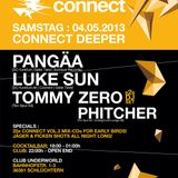 Luke Sun Livemix @ Connect Deeper (04-05-2013)