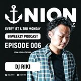 UNION BIWEEKLY PODCAST 006 - DJ RIKI