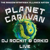 Dj Rockit and Orkid Live at Planet Caravan