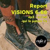 """Report festival VISIONS 6.66 ep3 : """"c'est qui le patron ?"""" (Godzilla Overkill, DJ Marcelle)"""
