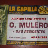 Oscar Mulero - Live @ All Night Long La Capilla After, Redondela-Vigo (05.11.1995) parte#2