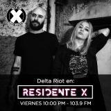 Delta Riot en Residente X | La X 103.9 FM